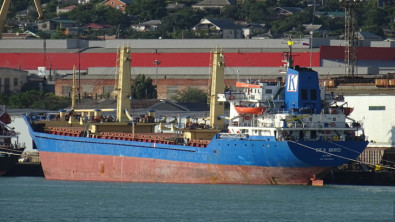 Cargo ship with cargo of wheat sank in Greece waters