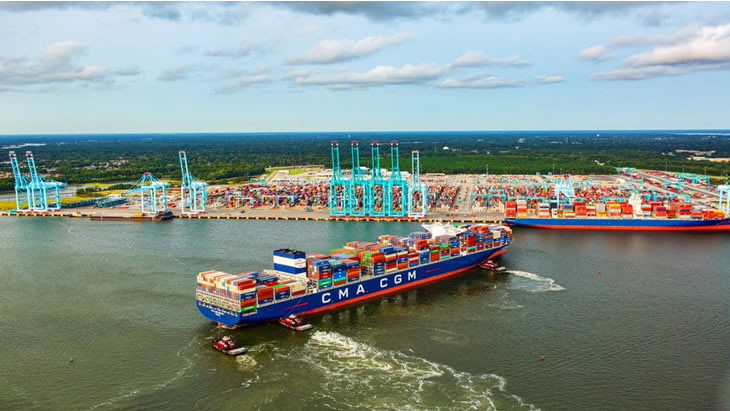 CMA CGM Expects Strong Year-End for Container Shipping