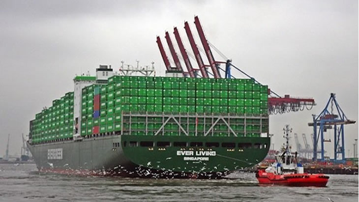 Evergreen confirms plans to build 20 boxships