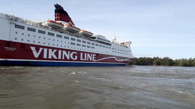 Finnish Passenger Ferry Grounds and Evacuated in Baltic
