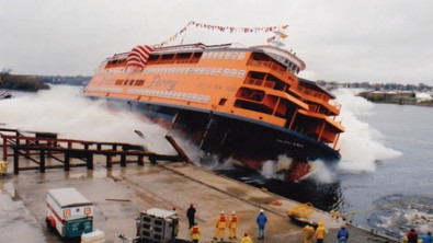 First Ollis-Class Ferry for Staten Island Nears Delivery