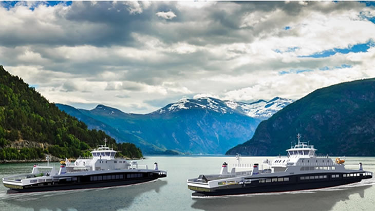 Fjord1 awards Tersan Shipyard with a two-ferry order
