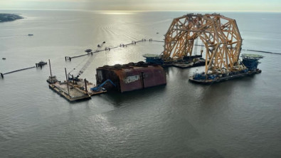 Golden Ray Wreck Removal Nearing End as Final Cut Completed