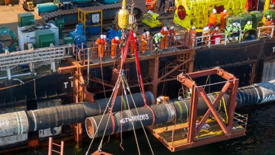 In Strategic Win For Russia, Nord Stream 2 Pipeline is Fully Complete