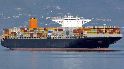Maersk Containership Broken Down in the Pacific Ocean