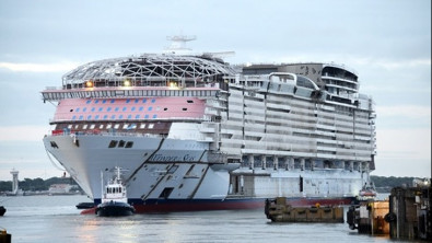 New Cruise Construction Accelerates with More Float Outs