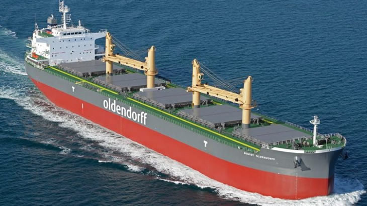 Oldendorff seals Chinese financial leasing deal for ultramax sextet