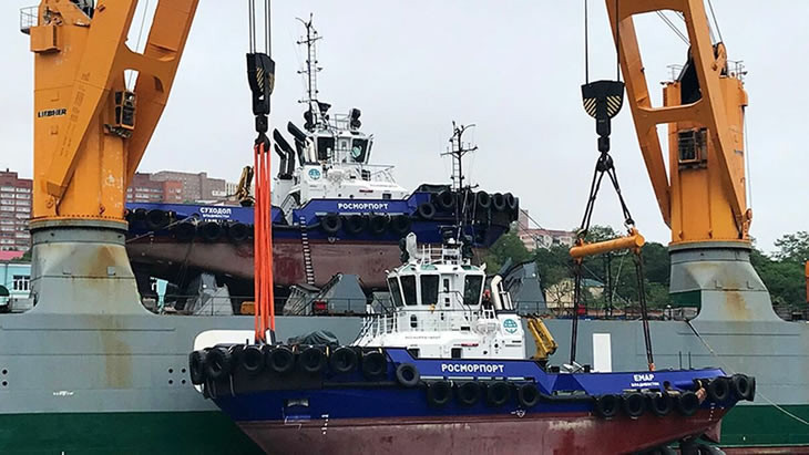 Russia orders 12 tugs from two shipyards