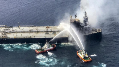 Tanker fire off Sri Lanka now under control, says navy